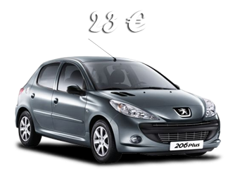 Compact and economical Peugeot 206+