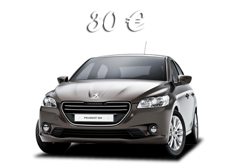 Book now the new Peugeot 301